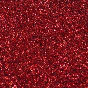 Glitter Purpurina Pó Brilho - Decoração - Vermelho - 500g