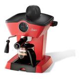 Cafetera De Vapor Para Espresso Y Capuccino Roja
