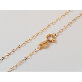 Corrente Colar Americana Cartier Feminina Ouro 18k 750 40cm