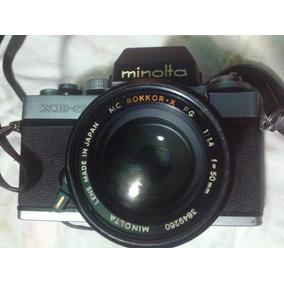 Minolta Xe-5 Cámara Con Lente Minolta Rokkor-x 50mm
