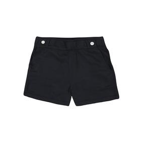 Shorts Feminino Em Tecido Sarjado De Viscose