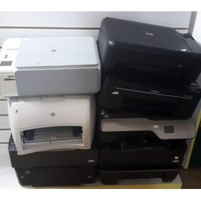 Lote 9 Impressoras Hp/epson (sucata)