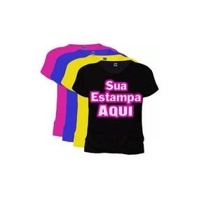 b89a86259 Camiseta Personalizada - Camisetas Manga Curta no Mercado Livre Brasil