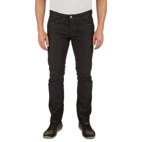 Calça Jeans Colombo Masculina Preta Com Elastano Upper