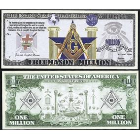 Cédula Dolar Fe Maçonaria - Maçom 05 Unidades