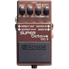 Pedal Boss Oc3 Super Octave
