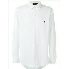 ebb59ae5853a9 Camisa Polo Ralph Lauren Blanca - Ropa y Accesorios en Mercado Libre ...