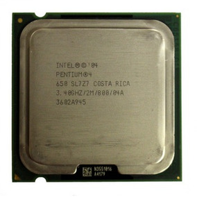 Sl7z7 Intel Pentium 4 650 3.40ghz Processor 800ghz Plga7