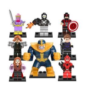 Homem Formiga Capitão América Feiticeira Scarlate Thanos