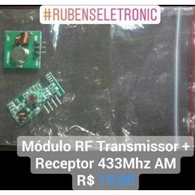 Módulo Rf Transmissor + Receptor 433 Mhz Am