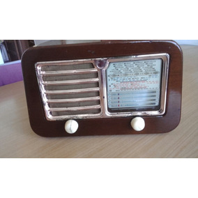 Hermosa Radio Geloso Un Lujo Antigua