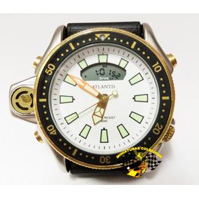 4e3d7d0b323 Relogio Atlantis Aqualand Serie Ouro Esportivo Masculino - Relógios ...