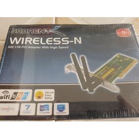 Tarjeta Pci Wifi 2 Antenas Marca Sabrent