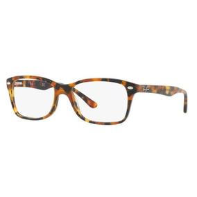 Armação Ray Ban Rb 5228 Marrom (havana Tortoise) 50mm - Óculos no ... 360ccb3932