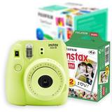 Cámara Instantanea - Fujifilm Instax Mini 8 Verde Nueva