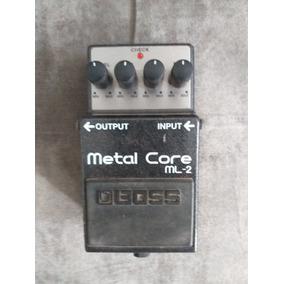 Pedal Boss Metal Core Ml 2