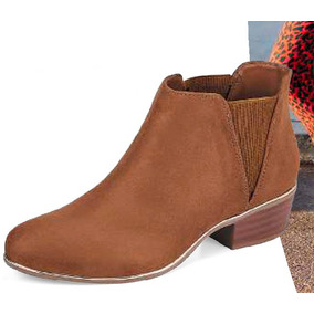 Botines Cerrados Tacón Cuadrado Modelo Head Over Heels 2012