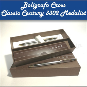 Boligrafo O Lapiz Cross Clasic Century Medalist /black Cromo