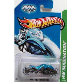 Max Steel Motorcycle Future Fleet Azul/rodas Bca. Hw 59/250