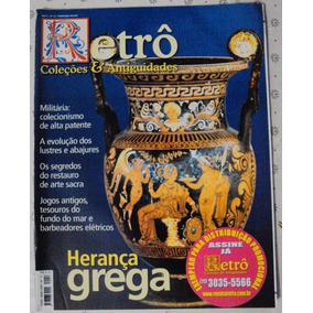 Revista Retrô De Coleção Nº 12 Herança Grega / Militaria