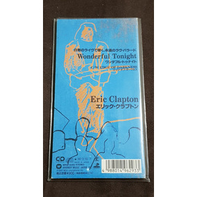 Eric Clapton Wonderful Tonight Cd Single Japonês 3 Pol. Raro