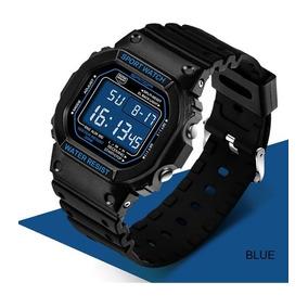 2adb5aee60e Relógio Quadrado Pulseira Borracha - Relógios no Mercado Livre Brasil