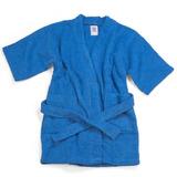 Batas De Baño Para Niños De 6 A 8 Años 100% Algodón
