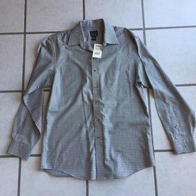 Jos A. Bank Camisa Casual A Cuadros Nueva Y Original M/l