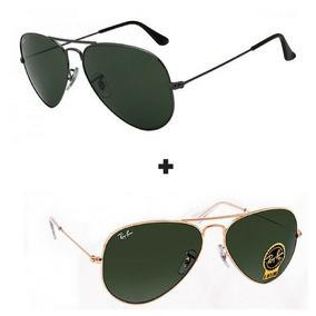 Oculos Rayban Aviador Masculino Verde - Óculos no Mercado Livre Brasil a95ccf0e49