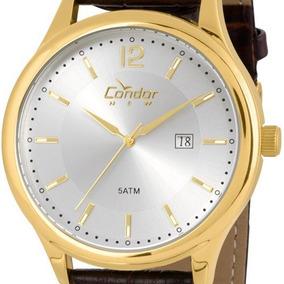 ec53fad2aa5 Relogio Condor Pulseira De Couro - Joias e Relógios no Mercado Livre ...