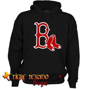 Sudadera Mlb Red Sox Boston Mod.17 C By Tigre Texano Designs