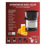 Espremedor De Suco Agratto Profissional 300w Inox Bivolt