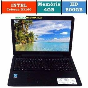 Notebook Asus Z550m Celeron 4gb 500gb 15,6