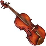 Violino 4/4 Rolim Red Vintage Fosco Série Especial Artesanal