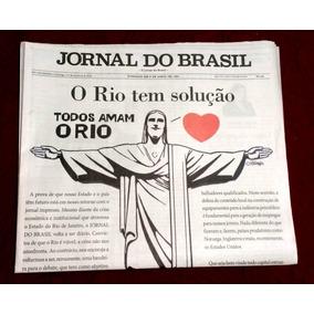 Jornal Do Brasil Edição Histórica Nr. 1 /2018 Novo Não Lido