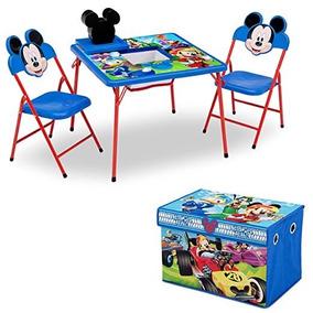 Mesa Y Sillas De Mickey Mouse Caja Juguetes Delta Children