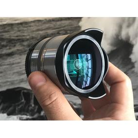 Lente Sony 16mm F/2.8 + Conversor Fisheye Olho De Peixe