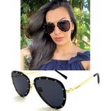 fd0988a04f2d9 Oculos De Sol Feminino Premium Va2013 Aviador Solar