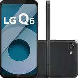 Smartphone Lg Q6 Dual+32gb Android 7.0 Tela 5.5 Full Hd+nf