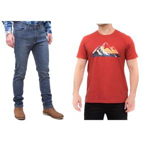 Kit Masculino Calça Stone Camisa Laranja All Terrain Atr