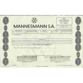 Apólice Mannesmann S.a