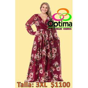 Vestido Talla Extra 3xl