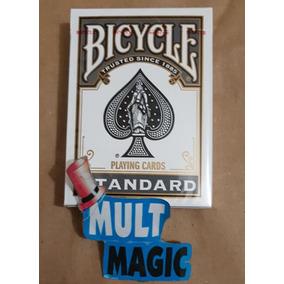 1 Baralho Bicycle Standard Preto Poker Size