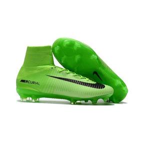 128258b923e39 Chuteira Campo Nike Botinha Verde - Chuteiras no Mercado Livre Brasil