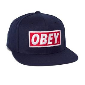 Bone Obey Snapback - Bonés para Masculino no Mercado Livre Brasil acc33e76047