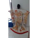 Kimono Tradicional Japonês Uchikake