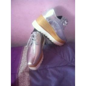 2b8ac11d8 Zapato Casuales Oxford Plataforma Última Moda T 38 Al 41
