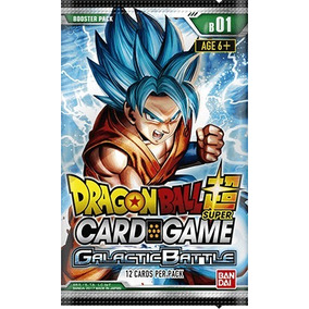 Dragon Ball Super Card Game - Booster Box - Galactic Battle