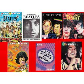 7 Cancioneros Para Guitarra Beatles, Stones, Hendrix, Floyd