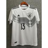 Camisetas Selección Alemania 2018 Müller Kroos Kimmich eedb4390ee27f